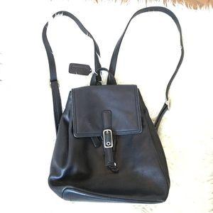COACH Vintage Black Legacy West Backpack 9858